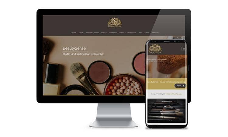 Reszponzív weboldal készítés HW+ CMS